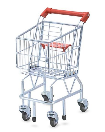 Melissa & Doug Shopping Cart ($55)
