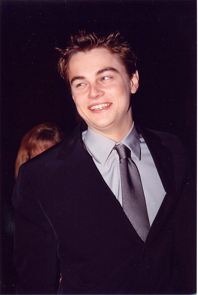 Leo enjoyed himself at Titanic's premiere.