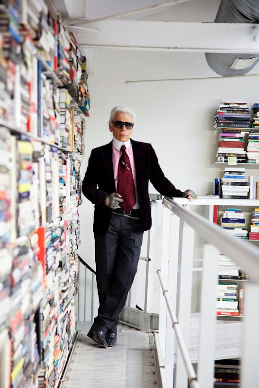 Karl Lagerfeld Apartment Pictures Architectural Digest