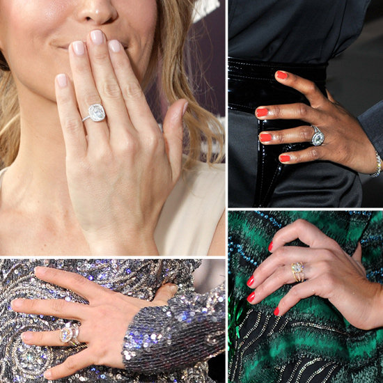 Celebrity Engagement Rings Pictures