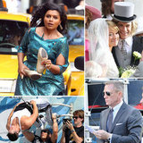 Daniel Craig, Olivia Wilde, Mindy Kaling, and More Stars on Set!