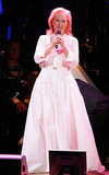 Meryl Streep wore a long white gown to the Revlon Concert for the Rainforest Fund at Carnegie Hall in NYC.