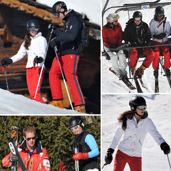 See Will and Kate's Ski Vacation With Pippa and New Boyfriend George