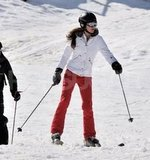 Kate Middleton took a ski vacation in France.