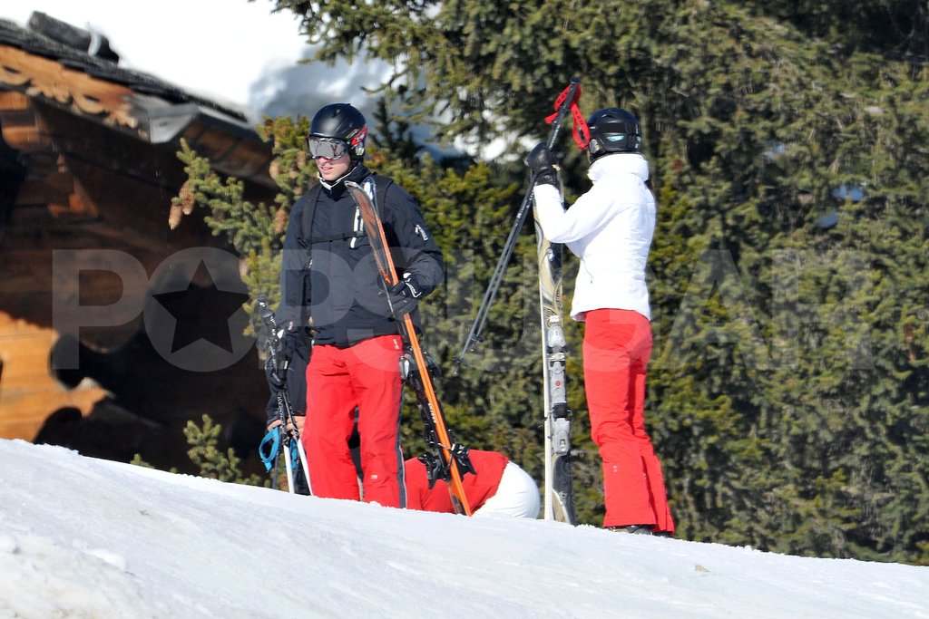 Kate Middleton and Prince William enjoyed a ski vacation together in France with her family.