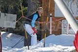 Pippa Middleton on her skis in France.