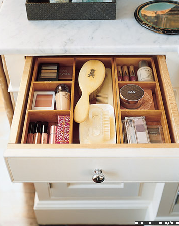 Place Dividers in the Drawers