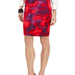 We love the sultry edge to this tie-dye-style pencil skirt — plus, it hits just above the knee, giving it a much sexier feel.