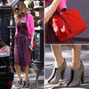 Sarah Jessica Parker Plaid Skirt by Comme des Garcons