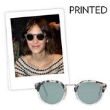 Why we love them: Just the way we're loving prints on our clothing this season, we're embracing prints on our eyewear a la Alexa Chung. They're fresh and fun, and there's literally a print to suit everyone's style. How to wear them: As you would with embellished frames, think of these as a bit of a statement piece — but again, don't let them dictate your look. We think they look best with our coolest weekend wear.   Super Panama In Matte Light Havana ($209)