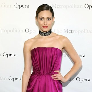 Emmy Rossum Doesn't Have a Stylist