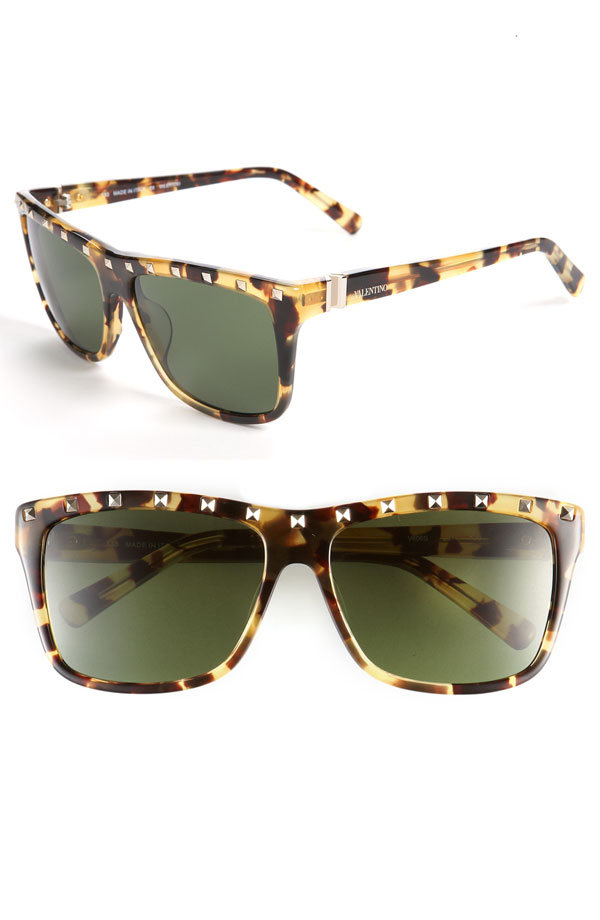Valentino Studded Sunglasses ($285)