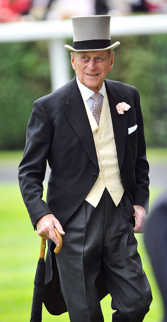 The Duke of Edinburgh looked dapper during the annual Royal Ascot horse racing event on June 15, 2011.