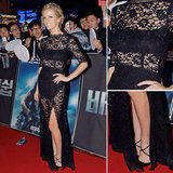 10 Sexy-Slash-Fashiony Black Lace Frocks Inspired by Brooklyn Decker