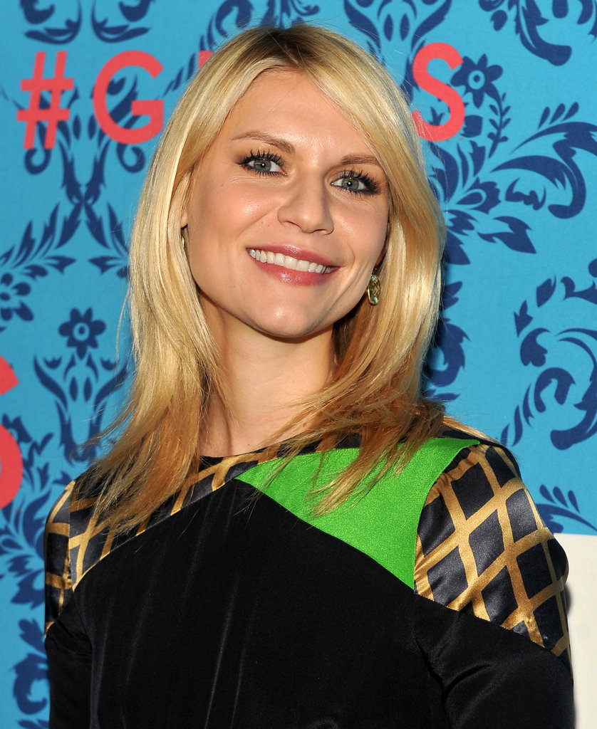 Claire Danes looked stunning at the premiere of HBO's Girls in NYC.