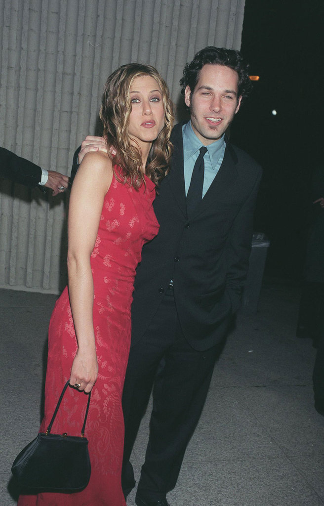 Paul Rudd and Jennifer Aniston were together for the LA premiere of The Object of My Affection during April 1998.