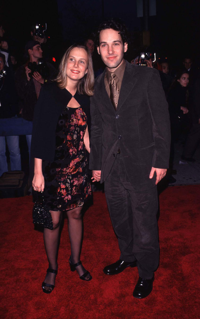 Julie Yaeger accompanied Paul Rudd to the April 1998 NYC premiere of The Object of My Affection.