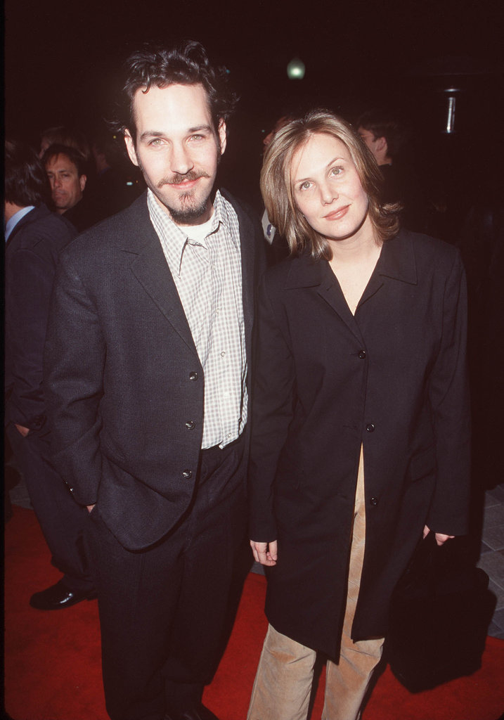 Paul Rudd and Julie Yaeger were on the red carpet for the Feb. 1990 LA premiere of 200 Cigarettes.