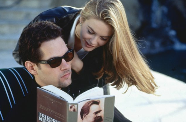 Paul Rudd shared the screen with Alicia Silverstone in 1995's Clueless.