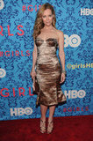 Leslie Mann at HBO's Girls in NYC.