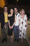 Rachel Weisz, Paul Rudd, Frederick Weller, and Gretchen Mol laughed it up at the London premiere of Pearl Harbor in May 2001.