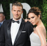 Victoria Adams and David Beckham
