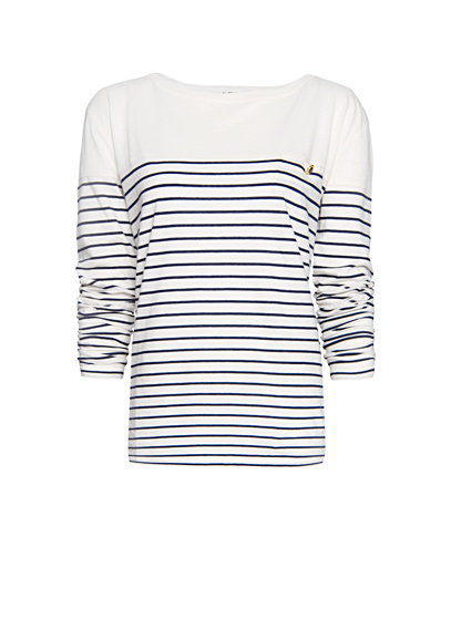 A Preppy-Cool Striped Tee