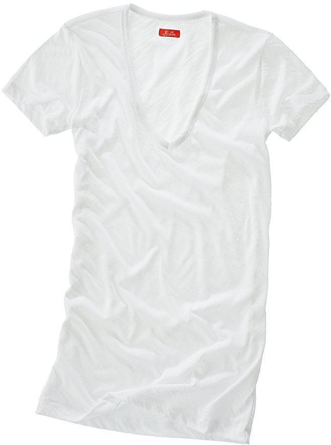 A Fresh White T-Shirt