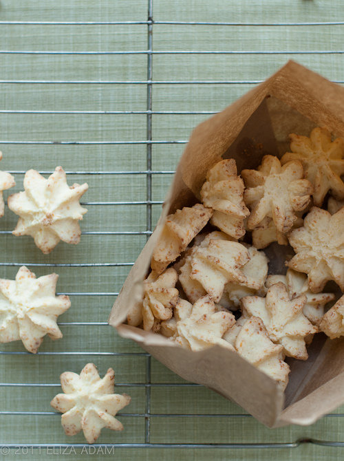 Cheese Spritz Cookies