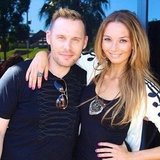 Ricki-Lee Coulter hanging out with her makeup artist Dale Dorning.
