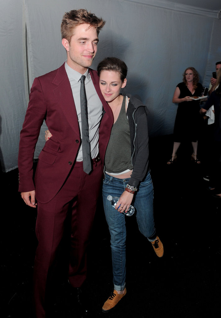 Kristen Stewart and Robert Pattinson were inseparable at the Eclipse after party in LA during June 2010.