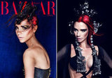 Victoria Beckham Gets Dramatic For Harper's Bazaar