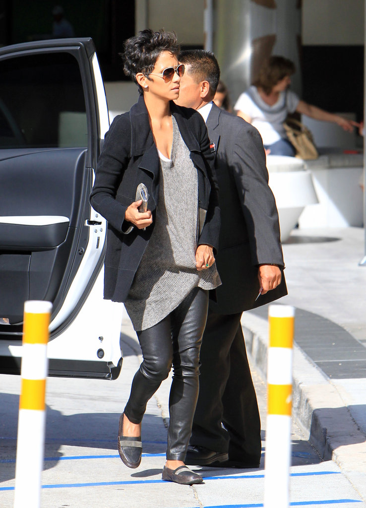 Halle Berry was ready to shop in LA.
