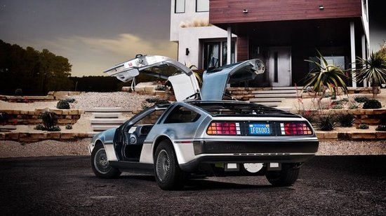 Electric DeLorean Makes an Appearance at the NY Auto Show