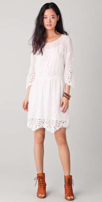 Sport this LWD Easter Sunday, then practically anywhere the rest of Spring and Summer.  One By Kuks Augi Short Dress ($286)