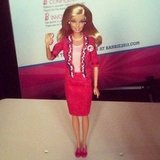 Barbie's running for office . . .