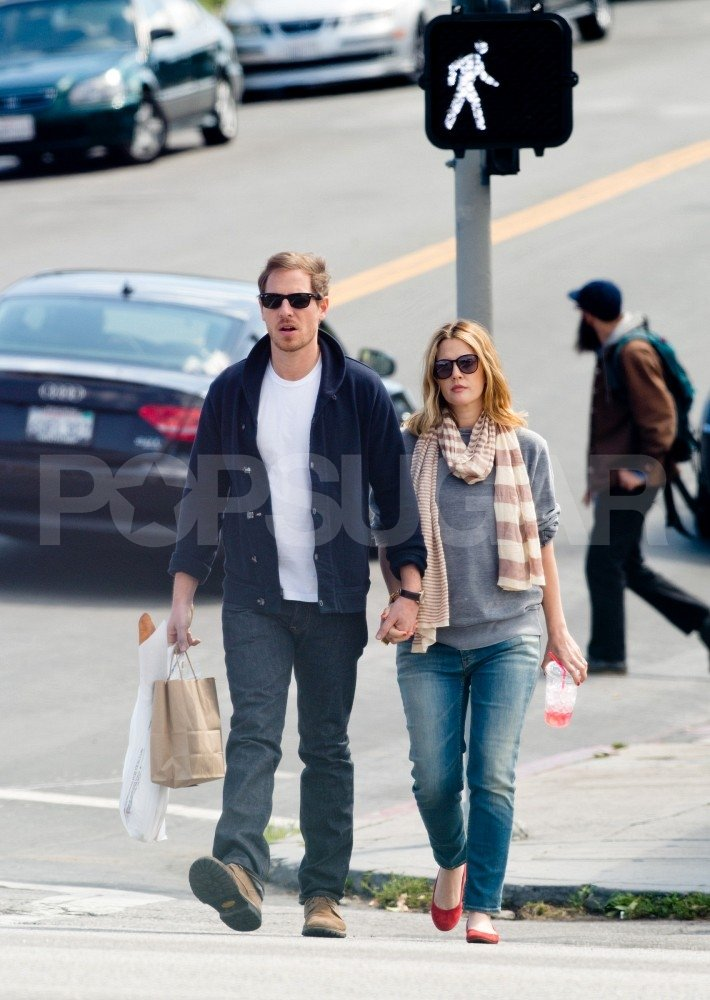 Drew Barrymore and Will Kopelman Have a Sweet and Easy Start to Saturday