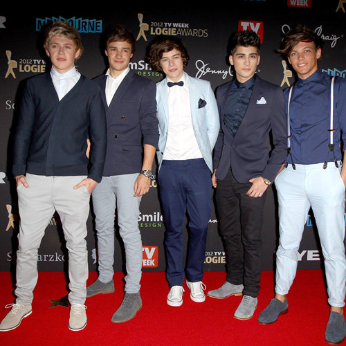 One Direction Pictures on 2012 Logies Red Carpet