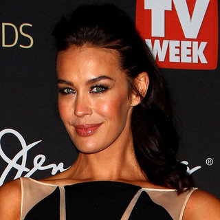 Megan Gale's 2012 Logies Hair and Makeup Look