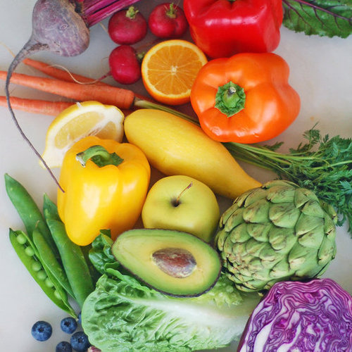 Colourful Vegetables From Whole Foods Market