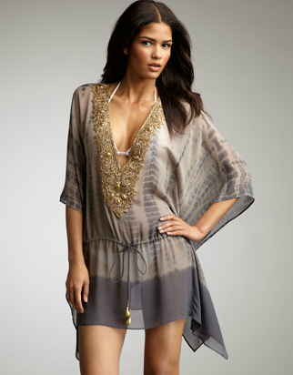 Debbie Katz embroidered cover-up ($285)