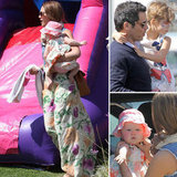 Jessica Alba and Cash Warren Dress Up Their Daughters For an Easter Bash