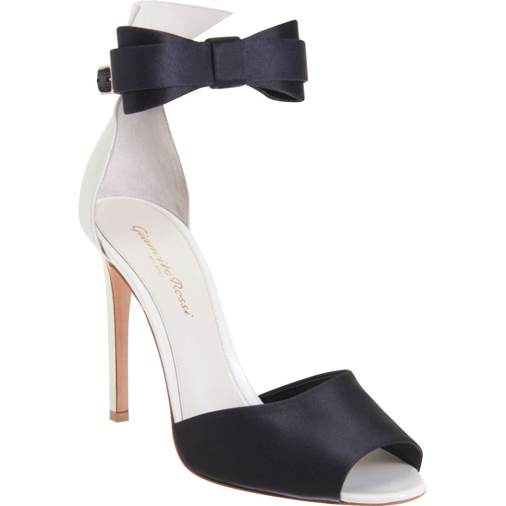 The slick menswear-inspired bow tie adds a cool vibe to this sexy stiletto silhouette. Gianvito Rossi Bow Tie Pump ($775)
