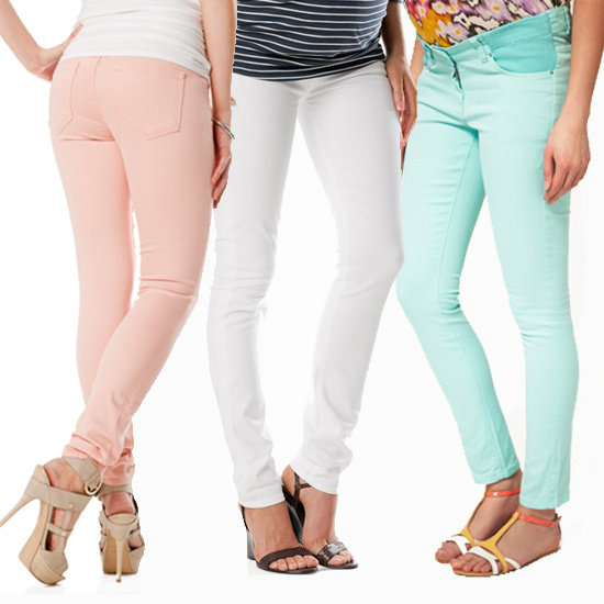 "Colorful Spring Denim Gives New Meaning to ""Mom Jeans"""