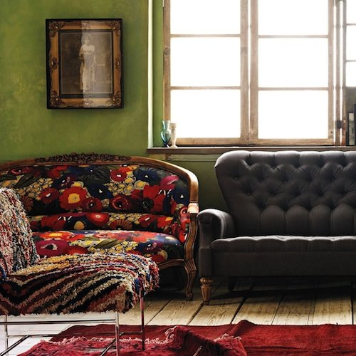 Floral Sofa Decorating Tips