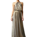 Tibi Metallic Jersey Halter Gown ($225, originally $375)
