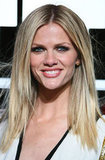Brooklyn Decker wore her hair parted down the middle to the Battleship premiere in Sydney.