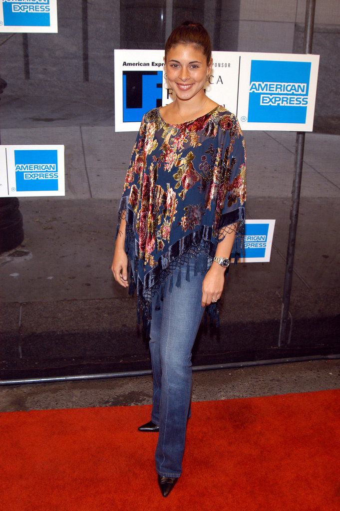 Jamie-Lynn Sigler stepped onto the red carpet at the Tribeca Film Festival Awards Ceremony in May 2003.