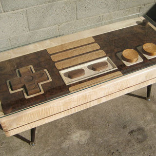 Nintendo Controller Coffee Table Pictures