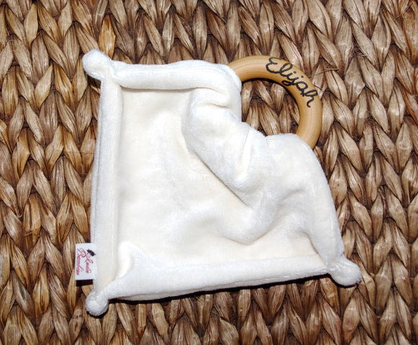 Organic Bamboo Blanket Teether